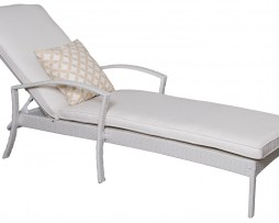White_Rattan Sunbed_NEW
