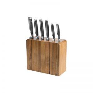 6 PC Knife Block Set