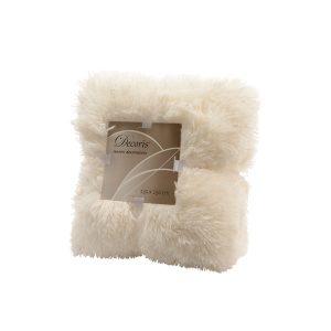 Velvet Plaid Faux Fur