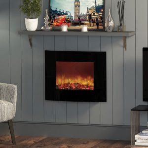 Quattro Wall Mounted Electric Fire