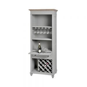 Cabinet wine display