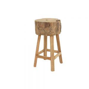 Teak root stool