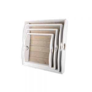 Set of 4 serving tray