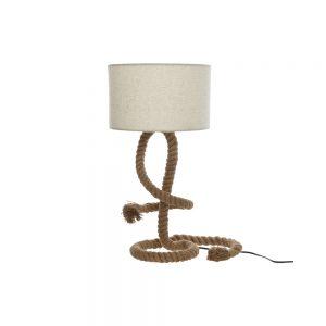 Rope floor lamp