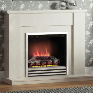 Cotsmore electric Marble Fireplace