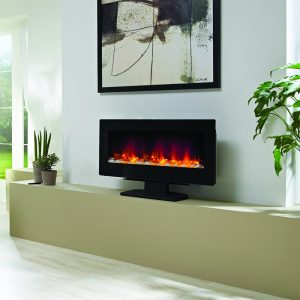 "Amari 38"" Electric Free Standing Fireplace"