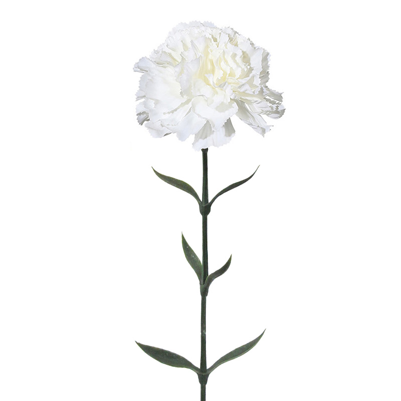Artificial Flower Dianthus White 67cm Hometrends Home